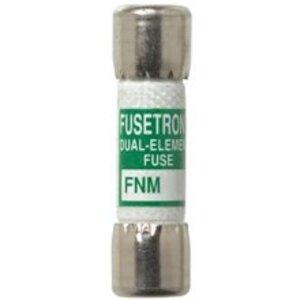 "Eaton/Bussmann Series FNM-1 Fuse, 1 Amp, Time-Delay, Ferrule, Fiber, 13/32"" x 1-1/2"", 250V"
