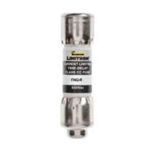 """Eaton/Bussmann Series FNQ-R-5 Fuse, 5 Amp, Class CC, Time-Delay, 13/32"""" x 1-1/2"""", 600V"""