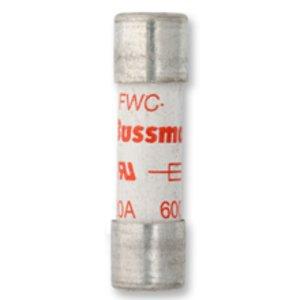 Eaton/Bussmann Series FWC-10A10F Fuse, 10A North American Style Ferrule, 10 x 38 mm, 600VAC/700VDC