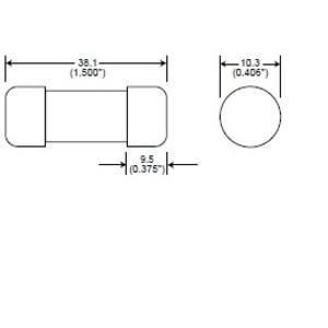 Eaton/Bussmann Series FWC-30A10F Fuse, 30A, North American Style Ferrule, 10 x 38 mm, 600VAC/400VDC
