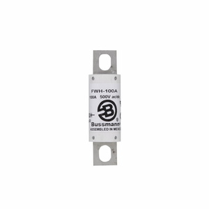 Eaton/Bussmann Series FWH-100A Fuse, 100 Amp North American Style Stud Mount High Speed, 500V