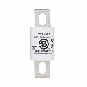 Eaton/Bussmann Series FWH-325A Fuse, 325A North American Style Stud Mount High Speed, 500VAC