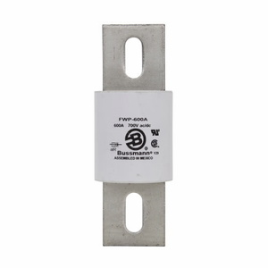 Eaton/Bussmann Series FWP-600A Fuse, 600A North American Style Stud Mount High Speed, 700VAC