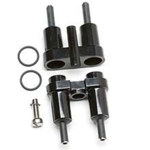 """Eaton/Bussmann Series HEX-AA In-Line Fuse Holder, 2-Pole, For 13/32"""" x 1-1/2"""" Fuses, 30A, 600V"""