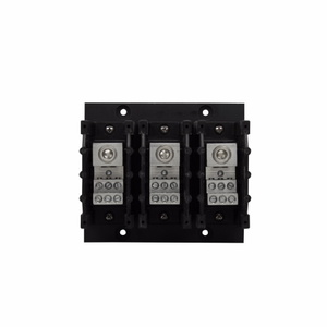 Eaton/Bussmann Series PDB323-3 Power Distribution Block, High SCCR, 3P, 1 Primary/Multiple Secondary