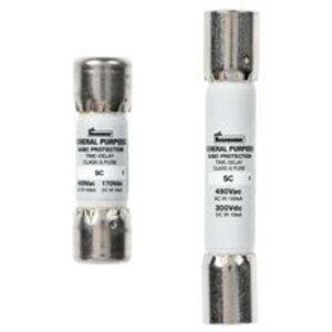 Eaton/Bussmann Series SC-15 Fuse, 15 Amp, Class G, Time-Delay, 600 Volt