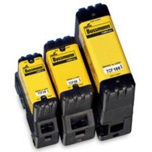 Eaton/Bussmann Series TCF15 Fuse, Low-Peak CUBEFuse, Indicating, 15A, 600VAC, 300VDC