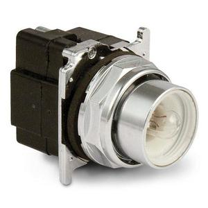 Eaton 10250T411 30.5 mm, Heavy-Duty, Pushbutton Operator, Flush, No Lens