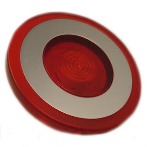 Eaton 10250TC47 Push Button, 30mm, Push-Pull, Red, 40mm, Plastic, Lens