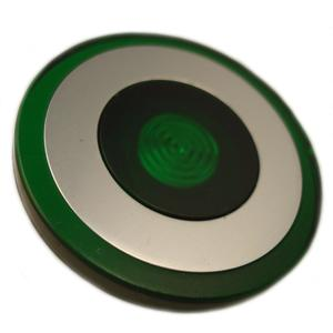 Eaton 10250TC48 Push Button, 30mm, Push-Pull, Green, 40mm, Plastic, Lens