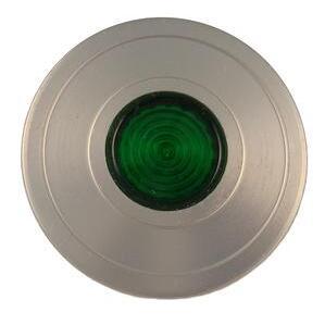 Eaton 10250TC66 Push Button, 30mm, Push-Pull, Green, 65mm, Aluminum, Lens