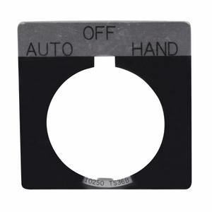 Eaton 10250TS49 Square 3-position Legend Plate