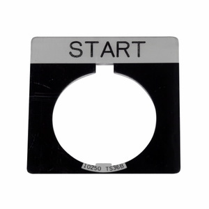 Eaton 10250TS84 Square Legend Plate