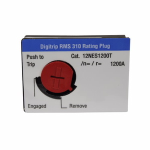 Eaton 12NES600T Rating Plug 600a Nd Bkr