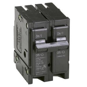 Eaton BR2100 Breaker, 100A, 2P, 120/240V, Type BR, 10 kAIC