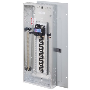 Eaton BR4080BQN200 Load Center, Main Breaker, 200A, 120/240V, 1P, 40/80, NEMA 1