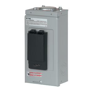 Eaton BR50SPAST Spa Panel, 50A, 1PH, 120/240VAC, BR Type, Self Test, GFCI, NEMA 3R
