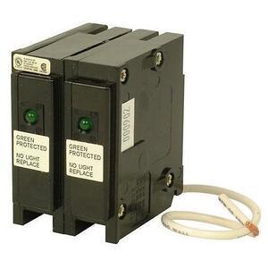 Eaton BRSURGE Breaker, Surge Device, 120/240V, 1-Phase, 2P, BR