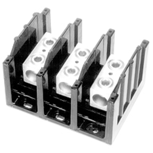 Eaton/Bussmann Series 16220-3 Power Distribution Block, 3-Pole, Single Primary - Multiple Secondary