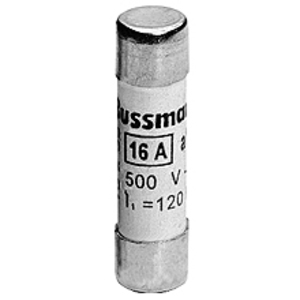 Eaton/Bussmann Series C10G6 Fuse Link, 6 Amp Cylindrical, Class gG/gL, 10x38mm, No Indicator