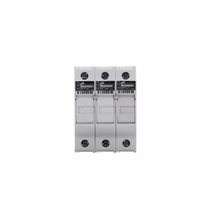 Eaton/Bussmann Series CHCC3DU Fuse Holder, Modular, Class CC, 3-Pole, No Indication, 30A, 600V