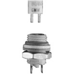 Eaton/Bussmann Series GMW-1/10 Fuse, 1/10 Amp Sub-Miniature Pin-Base, Fast-Acting, 125V