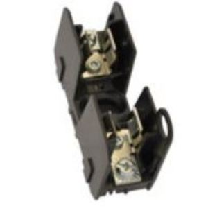 Eaton/Bussmann Series HM25030-2SR Fuse Block, Class H, 2-Pole, 1/10-30A, 250V, Phil-Slot Screw Terminal