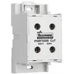 Eaton/Bussmann Series PDBFS204 Power Distribution Block, High SCCR, Finger-Safe, 1 Primary - 1 Secondary