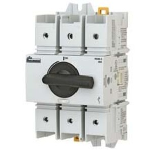 Eaton/Bussmann Series RDF100J-3 Disconnect Switch, Rotary, Fusible, 3P, 100A, Class J, 600V AC/DC