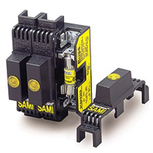 Eaton/Bussmann Series SAMI-2N Indicating Fuse Cover, 600V/Class R, K5 ,H (0-30A)