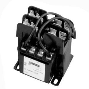 Eaton C0050E3AFB Transformer, Industrial Control, 50VA, 208/277 - 120VAC, w/Fuse Clip