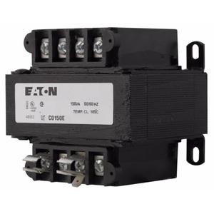 Eaton C0150E2A Transformer, 150VA, 220/230/240x440/460/480 -110/15/120, MTE Series