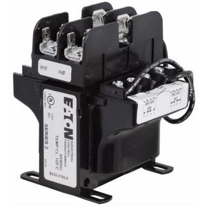 Eaton C0250E5EFB Transformer, 250VA, Multi-Tap, 1Ph, with Fuse Clips, MTE Series