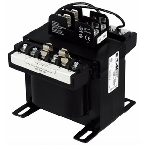 Eaton C0500E5EFB Transformer, 500VA, Multi-Tap, 1Ph, with Fuse Clips, MTE Series