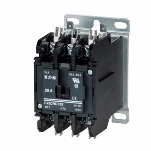Eaton C25DNF230B Contactor, Definite Purpose, 2P, 30A, 208-240VAC Coil, 600VAC