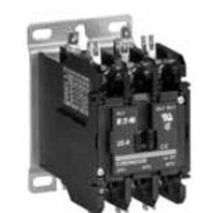 Eaton C25END440B Definite Purpose Contactor, 4P, 40A, 240 VAC