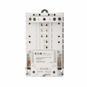 Eaton C30CNE40A0 Lighting Contactor, Nema, Magnetically Latched, 30A, 120VAC Coil