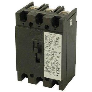 Eaton CC3100 Breaker, 100A, 3P, 240V, 10 kAIC, Type CC, Bolt On
