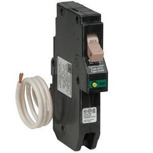 Eaton CH115CAF Breaker, 15A, 1P, 120/240V, 10 kAIC, Type CH, Combination AFCI