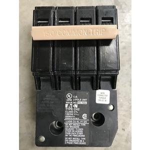 Eaton CH2150 Breaker, 150A, 2P, 120/240V, 10 kAIC, Type CH
