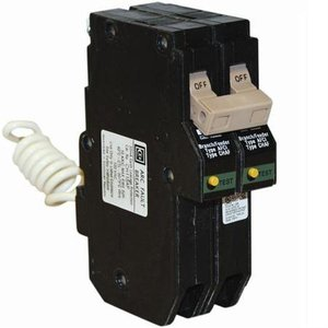 Eaton CH215CAF Breaker, 15A, 2P, 120/240V, 10 kAIC, Type CH, Combination AFCI