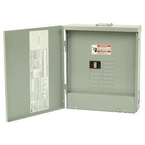 Eaton CH22B100R Load Center, Main Breaker, 100A, 120/240V, 1PH, 22/22, NEMA 3R