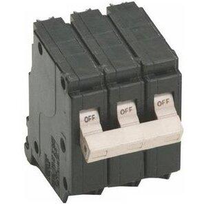 Eaton CH3080 Breaker, 80A, 3P, 240V, 10 kAIC, Type CH