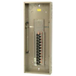 Eaton CH42N225K Load Center, Main Lug, Convertible, 225A, 1PH, 120/240VAC, 42/42
