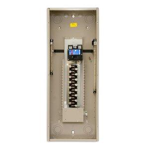 Eaton CHEC32B200K Load Center, Main Breaker, 200A, 120/240VAC, 1PH, 35kAIC, 32/32