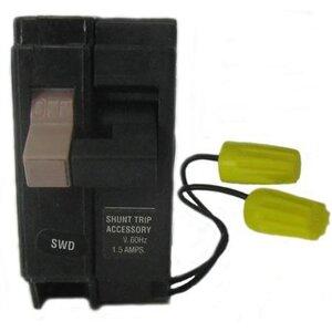 Eaton CHF120ST Breaker, 20A, 1P, 120/240V, 10 kAIC, Type CH, Shunt Trip