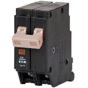 Eaton CHF220 Breaker, 20A, 2P, 120/240V, 10 kAIC, Type CH