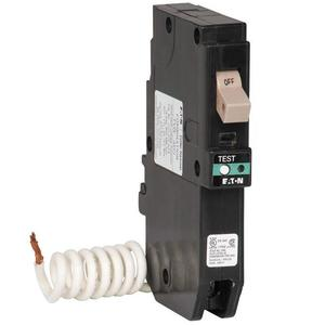 Eaton CHFCAF115 Breaker, 15A, 1P, 120/240V, 10 kAIC, Type CH, Combo AFCI
