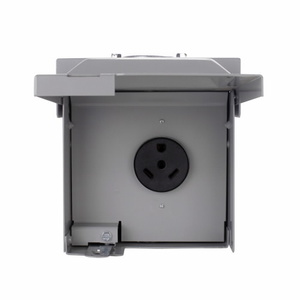 Eaton CHU4S Power Outlet Panel, 30A, 125/250VAC, 3P, 4W, Surface Mount, NEMA 3R