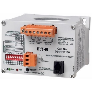 Eaton D64RPB100 Ground Fault Protection Relay